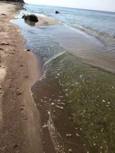 Pėdos smėlyje ir viduje